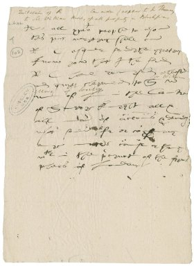 More, Sir William. Quit-claim to rights in Blackfriars to be prepared for the signature of R. Cawarden.