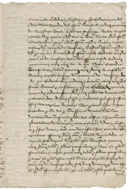 Great Britain. Court of Augmentations. Letters patent granting the office of seneschal of the manor of Nonsuch and other places to Sir Thomas Cawarden.