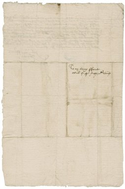 Galley, W. Autograph letter signed. To a clerk of the office of tents.