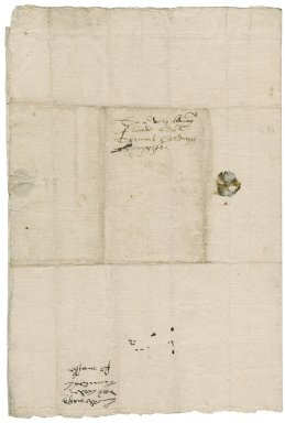 Mautravers, Henry Fitzalan, styled lord. Letter signed by him and John Lord Lumley. To Sir Thomas Cawarden. Arundel place.