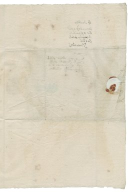 Dudley, R. Letter signed. To William More. Hampton Court.