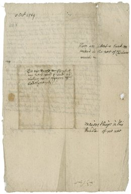 Lyne, Richard. Letter. To William More, Esquire.