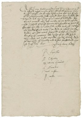 Great Britain. Privy Council. Letter. To Henry Becher, sheriff of the city of London. Oatlands.