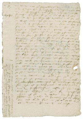 More, Sir William. Letter. To Robert Dudley, Earl of Leicester.