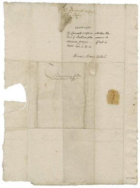 Great Britian. Privy Council. Letter. To William More. Windsor Palace.