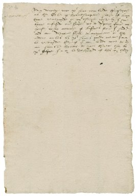 More, Sir William. Letter. To William Cecil.