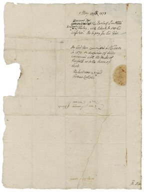 Great Britain. Privy Council. Letter. To William More. Star Chamber.