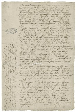 Creswell, R. Letters. To Sir William More. (L.b.595-596)