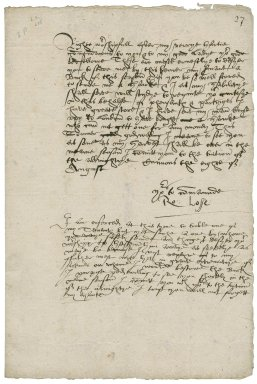 Losse, Robert. Letters. To Sir William More. Canons and Mosworth. (L.b.599-605)