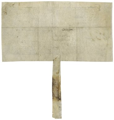 Great Britain. Court of augmentations. Lease of several properties in the Blackfriars to Sir Thomas Cawarden.