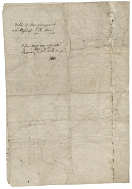 More, Sir George. 1553-1632. Observations concerning the duties of the treasurer and receiver-general to the Prince [Henry].