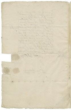 Gwillim, Thomas. Receipt for £400 from Sir George More, treasurer and receiver-general to Prince Henry.