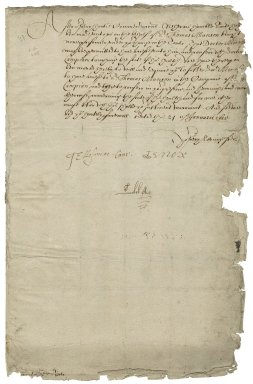 Great Britain. Privy Council. Warrant to Sir George More, Lieutenant of the Tower.