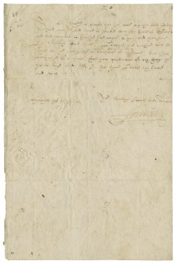 Kellie, Thomas Erskine, 1st Earl of. Letter. To Sir George More. Whitehall.