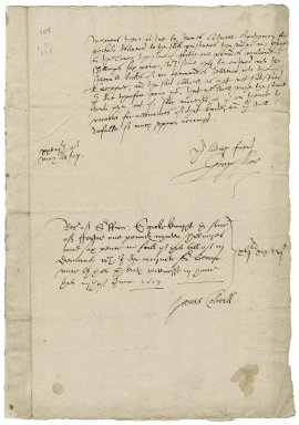More, Sir George. Letter. To John Bingley, Esq.