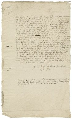 More, Sir Poynings. Letter. To Sir George More. London.