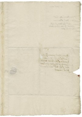 More, Sir George. Letter. To Theophilus Howard, Earl of Suffolk.