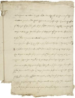 Wolley, Sir John. Copy of an indenture by which Wolley acquires the office of keeping the park of the manor of Whitley, Surrey, for £300.