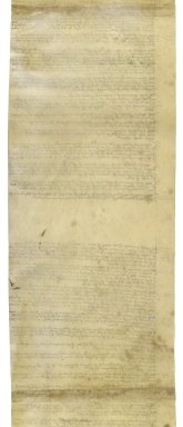 Great Britain. Office of the revels. An Inuytory Takyn the ffyrst daye of Aprill in the ffyrst yere of the Reigne of our soueraigne lorde Edward the Sixtyth ... By Syr Thomas Cawerden knyght Mr of the kinges Revelles of all suchethe kinges Masking Garmentes ... Bassis & Couering of bardes as were delyverd owte of the Custody of Iohn Briges late yoman of the same into the Tuycion & Saff kepi[ng] of Iohn Holte nowe yoman of the same Revelles...