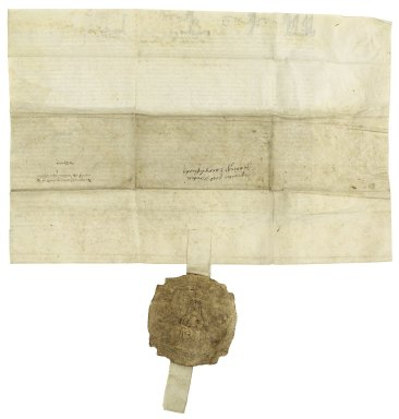 Great Britain. Court of Chancery. Exemplification of inquisitions relating to Braboeuf Manor, Surrey, and other property.