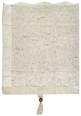 More, Sir William. Lease of part of a messuage in the Blackfriars to Sir Henry Neville.