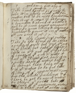 Cookbook of L. Cromwell [manuscript].