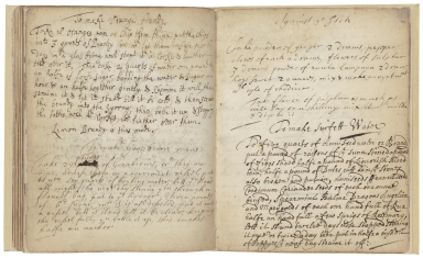 Receipt book of Sarah Longe [manuscript].
