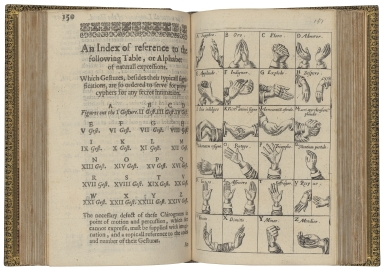 Chirologia: or The naturall language of the hand�� : Composed of the speaking motions,...