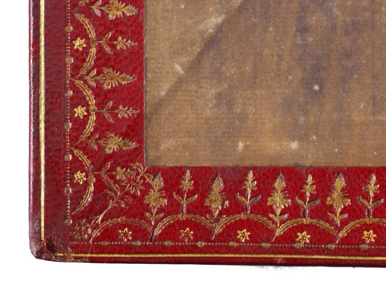 Front pastedown (detail), STC 22273 fo.1 no.13.