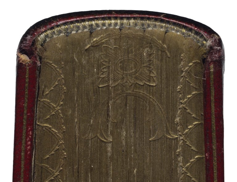 Headcap and gauffering (detail), STC 22273 fo.1 no.13.