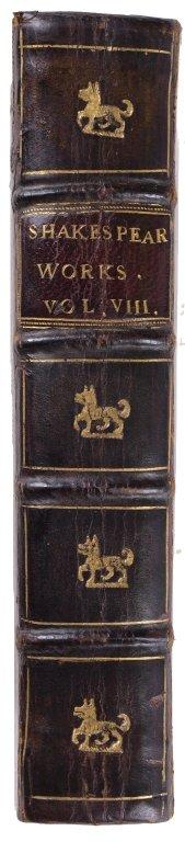 Spine, PR 2752 1726 copy 2 vol 1-8 Sh.Col.