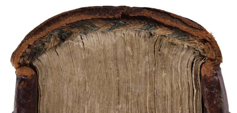 Chevron or herringbone endband plait (detail), STC 15297.