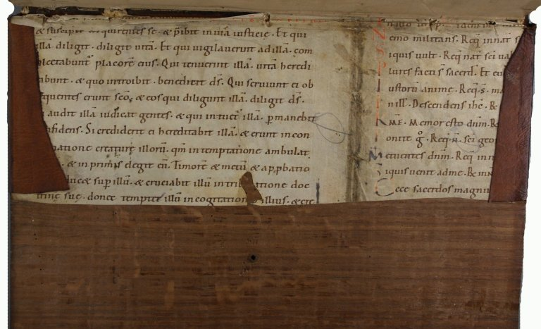 Manuscript pastedown 2, INC P700.