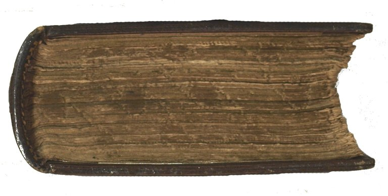Gauffered bottom edge, STC 17273.