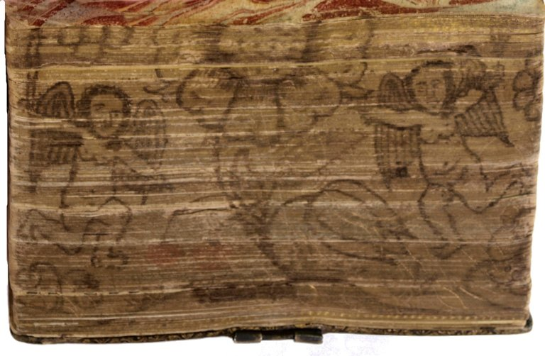 Painted fore-edge, 266614.