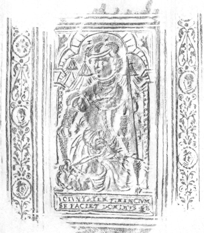 Front cover center panel stamp, 170- 352q.