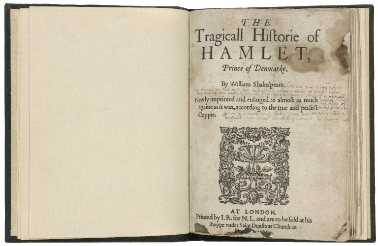 Folger Shakespeare Library Digital Image Collection: title page (1604)