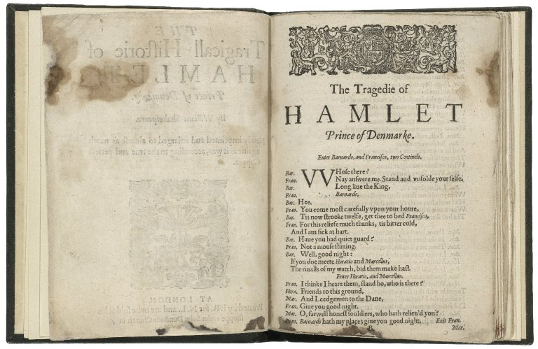 Folger Shakespeare Library Digital Image Collection: title page (1623)