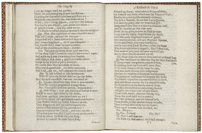 [King Richard III] The tragedie of King Richard the third.