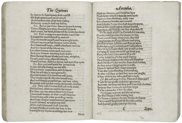 The Queenes Arcadia.