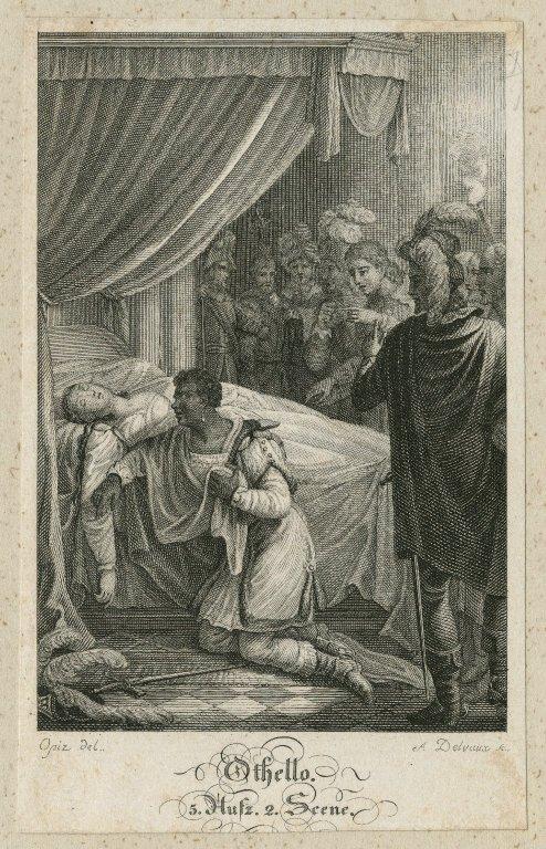 Othello, 5, aufz. 2, scene [graphic] / Opiz del. ; A. Delvaux sc.