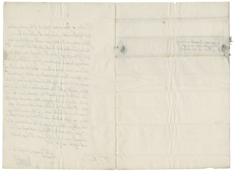 Letter from Thomas Howard, Earl of Arundel, Arundel House, to Elizabeth Hardwick Talbot, Countess of Shrewsbury, Hardwick