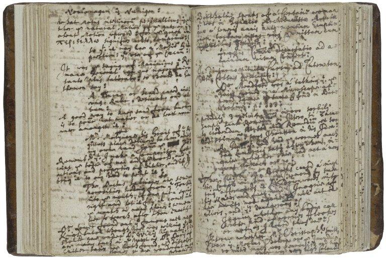 Diary of John Ward, vol. 4
