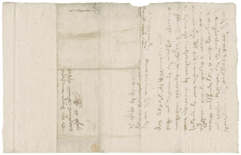 Letter from Jerrow Alexander to Nathaniel Bacon