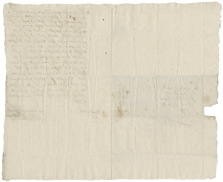 Letter from Thomas Athow to Nathaniel Bacon