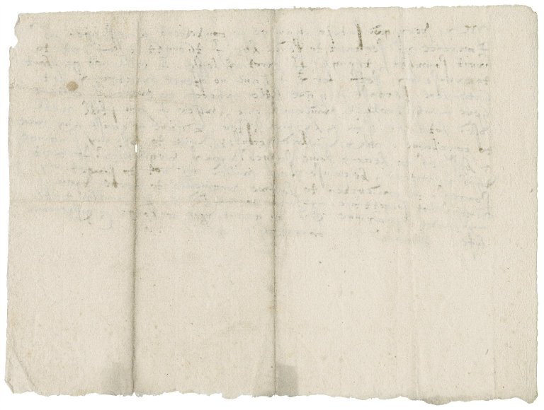 Letter from Anne (Gresham) Bacon to Sir Thomas Gresham : draft