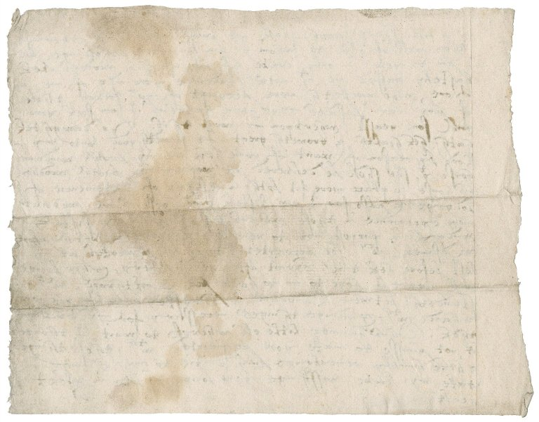 Letter from Nathaniel Bacon to Sir Thomas Gresham : copy