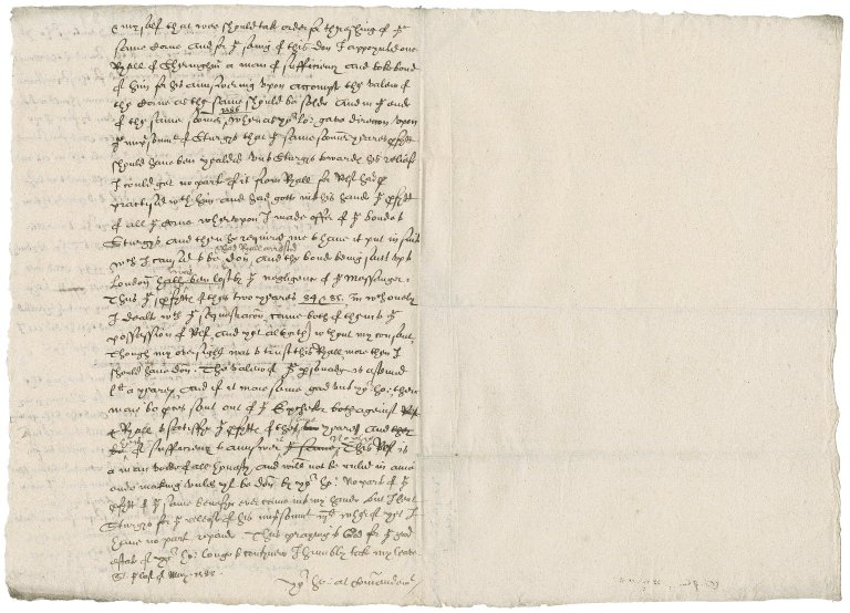 Letter from Nathaniel Bacon to William Cecil, Lord Burghley, Lord Treasurer and Sir Walter Mildmay, chancellor of the the Exchequer : copy