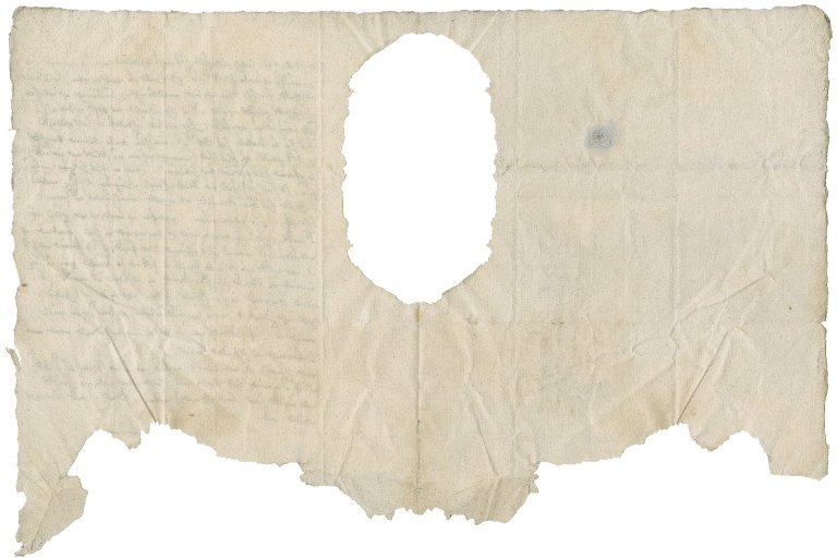 Letter from Rock? Church to Nathaniel Bacon