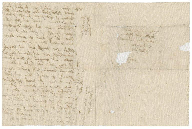 Letter from Edmund Dawber to Roger Townshend, 1st bart.
